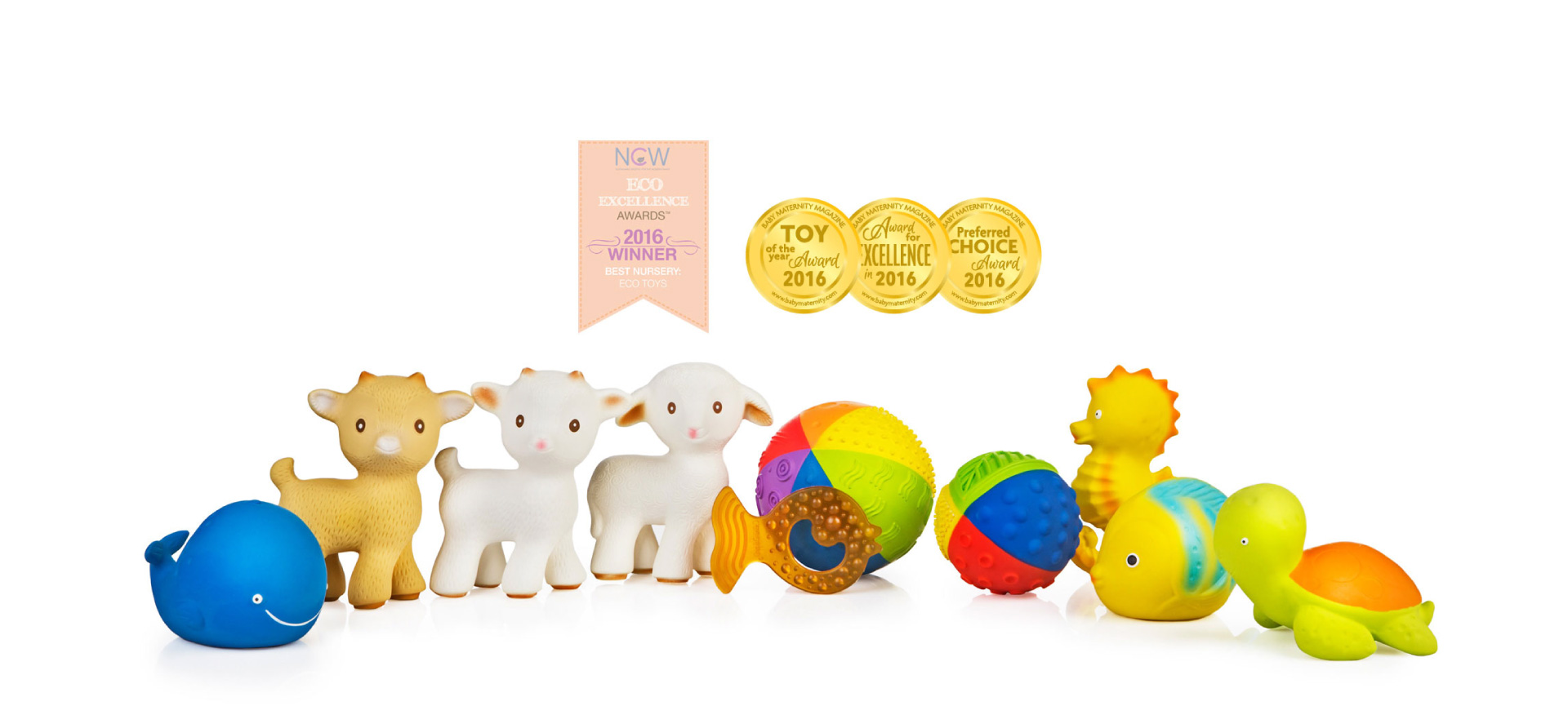 CaaOcho Toys and Teethers